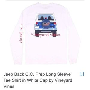 Vineyard Vines NYC Jeep long sleeve T-shirt